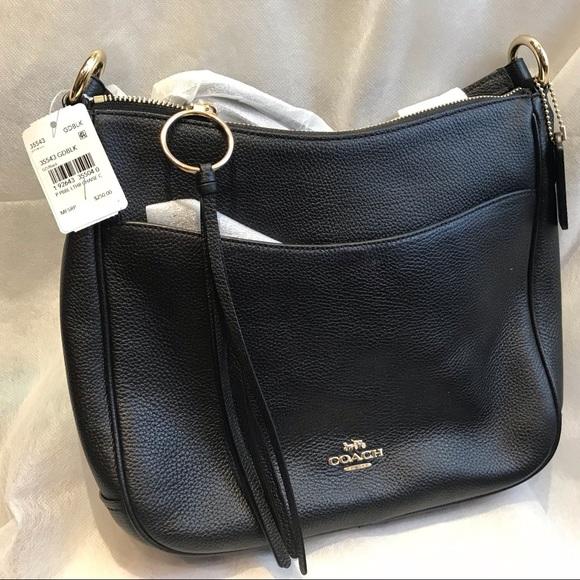 f74034d81ae293 Coach Bags | Nwt Chaise Crossbody Pebble Leather Bag | Poshmark